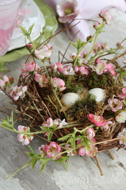 Easter Wreath Centerpiece