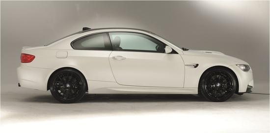 BMW E92 M3 Coupe - in Frozen Matte White #bmw