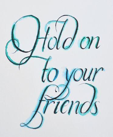 friendship is a precious thing.