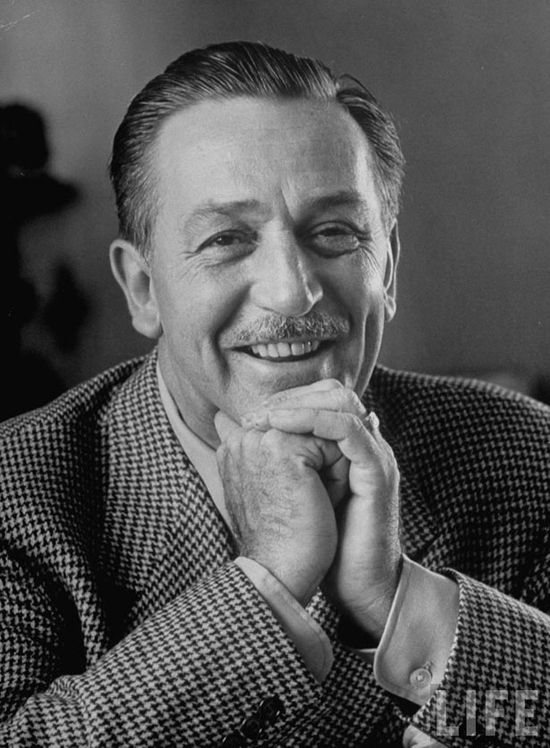 LIFE Magazine photo of Walt Disney.