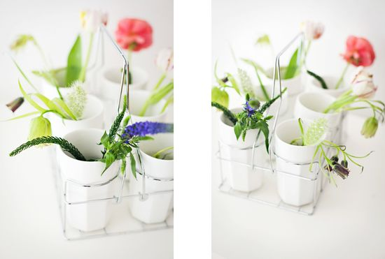 Pretty flower arrangement.