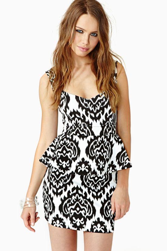 $68, Perception Peplum Dress