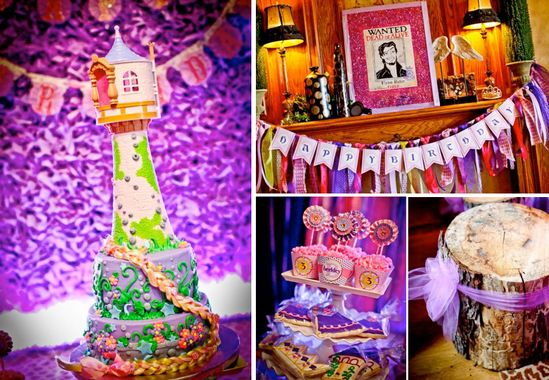 Rapunzel Tangled Birthday Party Planning via Kara's Party Ideas