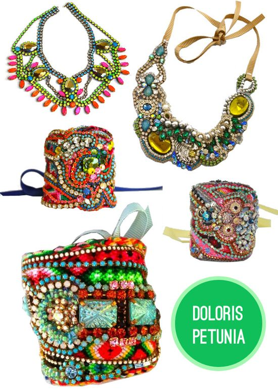 Colorful + neon jewelry