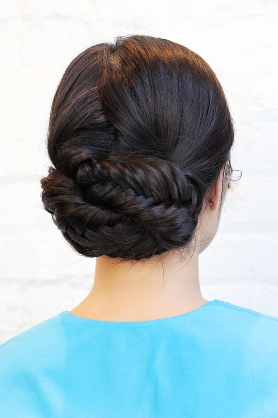 DIY: looped fishtail braids