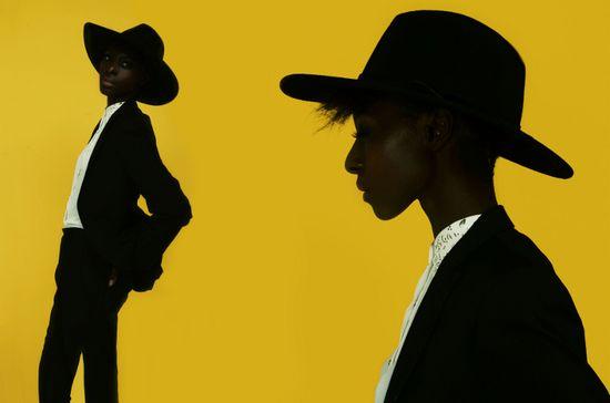 Mambu Bayoh, Esther Gomis, Black Fashion Models