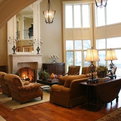 Molding and furniture arrangement