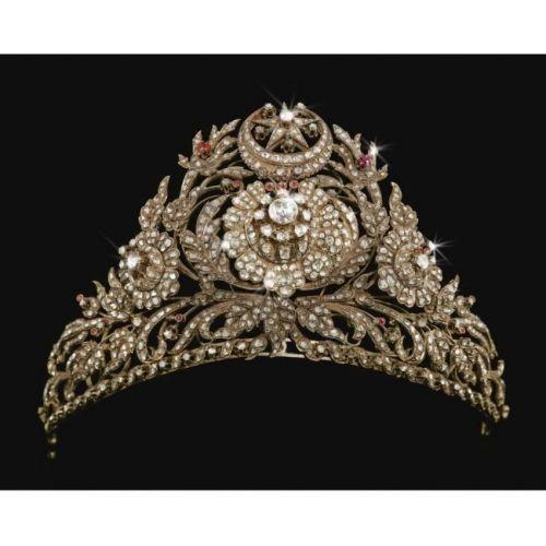 Diamond and Ruby tiara, ?Ottoman??