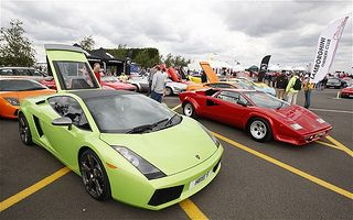 Lamborghini celebrates its 50th anniversary at Silverstone