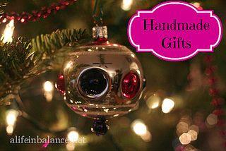 Handmade Gift Ideas #Christmas