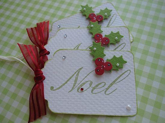 Noel tags