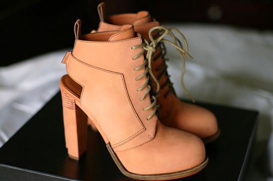 Alexander Wang Dakota Lace-Up Boots