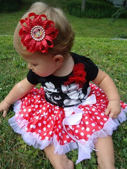 If I Had A Baby Girl, Should Would Def Wear This At Disneyland!