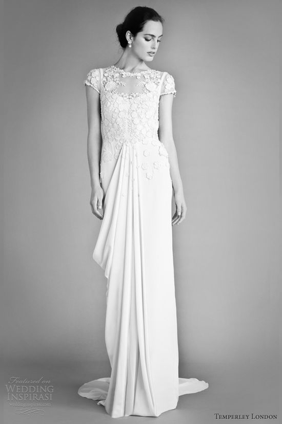 temperley london fall 2012 bridal laelia wedding dress///// love it!