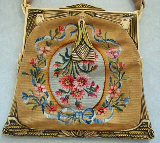 Beautiful Egyptian revival handbag.