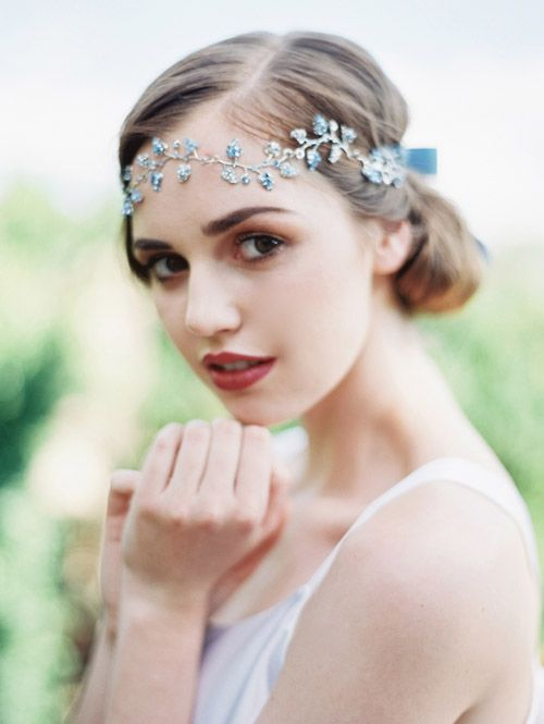1920's inspired bridal hair accessories from Enchanted Atelier