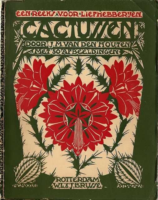 Cacti. Cover design by Einband Entwurf. 1929. (book cover)