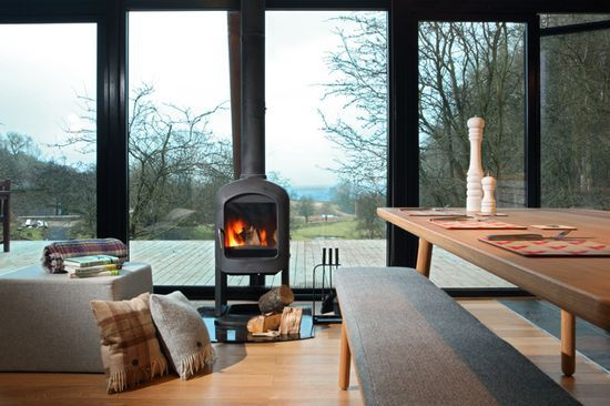 Natural Retreats, Yorkshire Dales, Hotel Interior Design, Luxury Lodge, Eco
