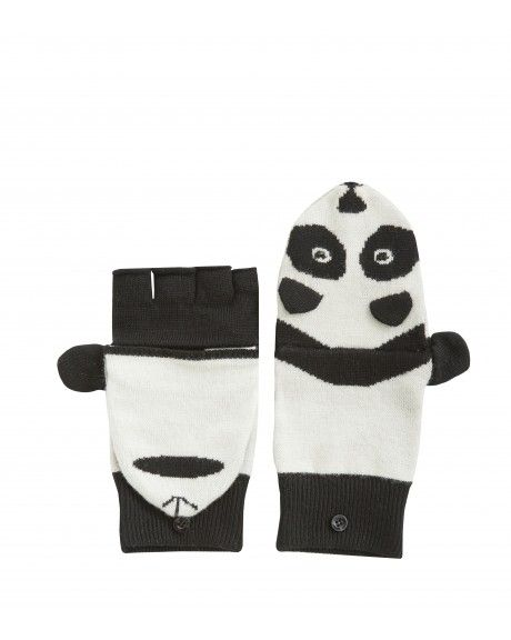 Alice + Olivia Panda mittens.