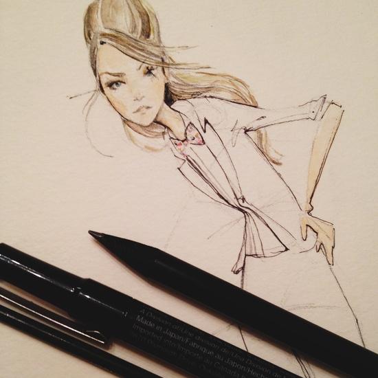 Fashion Illustration / Dallas Shaw