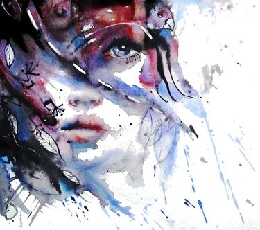 "Saatchi Online Artist Dreya Novak; Painting, ""My Way My Destiny"" #art"