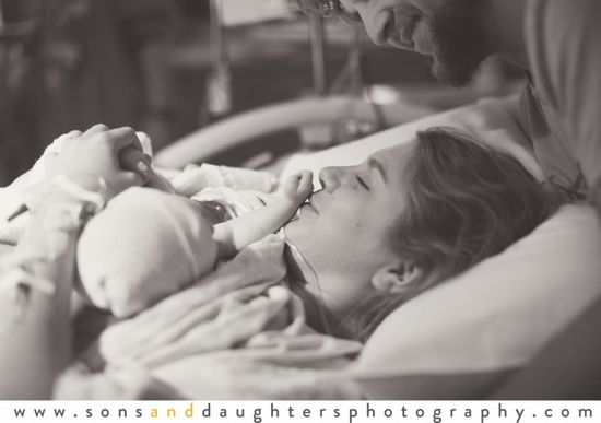 Sons & Daughters Photography: birth photography, love, newborn,