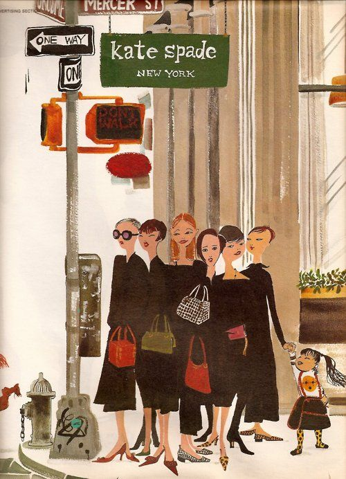 Illustration - Kate Spade, New York