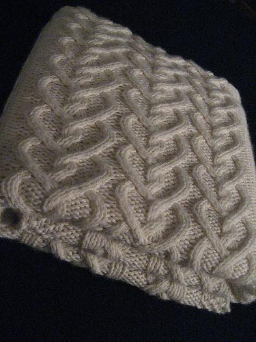 Levi's Baby Blanket free knit pattern