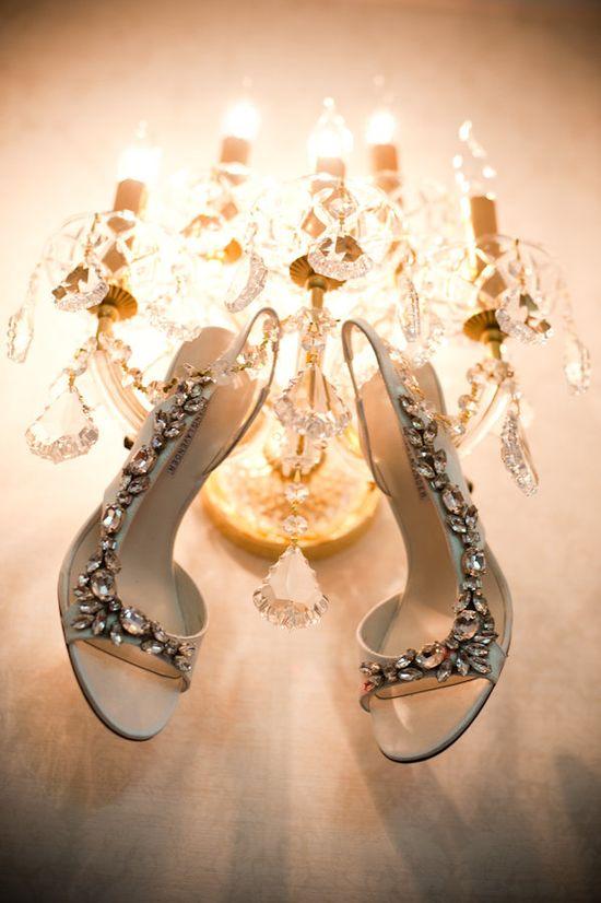 Vera Wang Lavender Label Wedding Shoe!