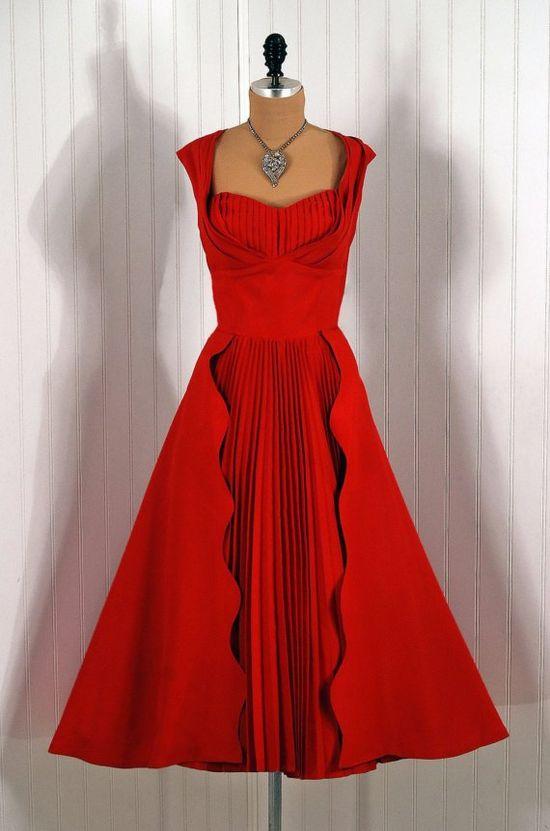 Party Dress, Robert Link by Fazzi, California, 1950's.