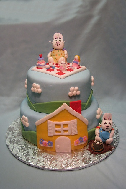 Max & Ruby Cake by Meghan's Cakes (on a cake break!), via Flickr
