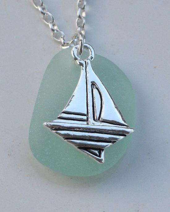 Sea Glass Necklace Sea Glass Jewelry N22 by beachglassgonewild, $24.95