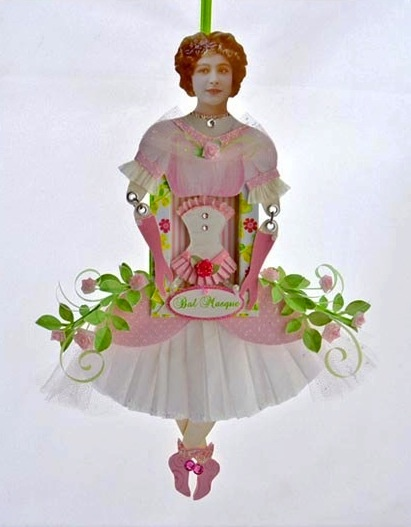 Victorian Paper Doll
