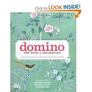 Domino interior design book...good read plus pretty for the coffee table!