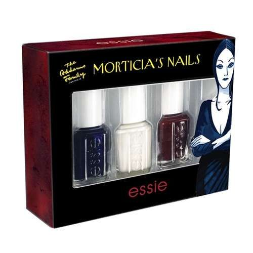 The Essie Morticia Nail Polish has a Deep, Dark Look #nails trendhunter.com
