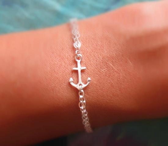 Anchors Ahoy Bracelet. $40.00, via Etsy.