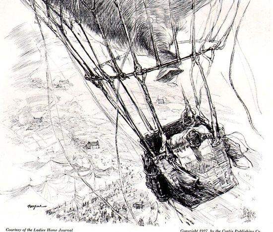 Runaway Balloon Ride 1920s
