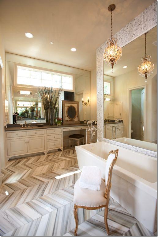 I LOVE this floor design.