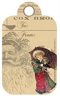 Free printable-Christmas tags