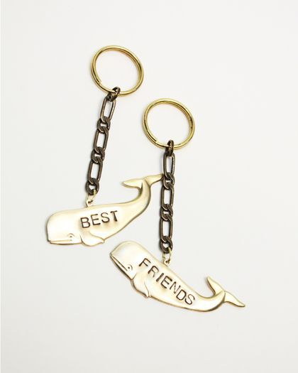 Best Friends Key Chains.