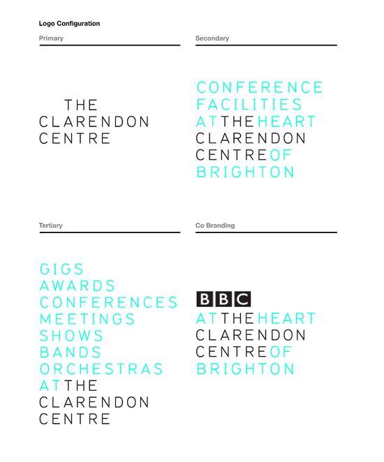 The Clarendon Centre Rebrand - Brighton Graphic Design Agency