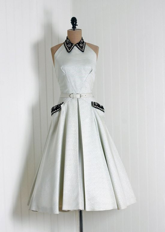 ~1950s Ellen Kaye Dress~