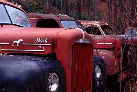 Mack Logging Trucks