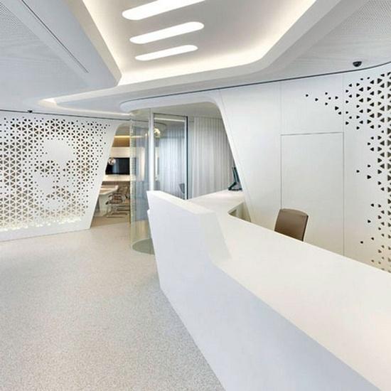 office interior graphics