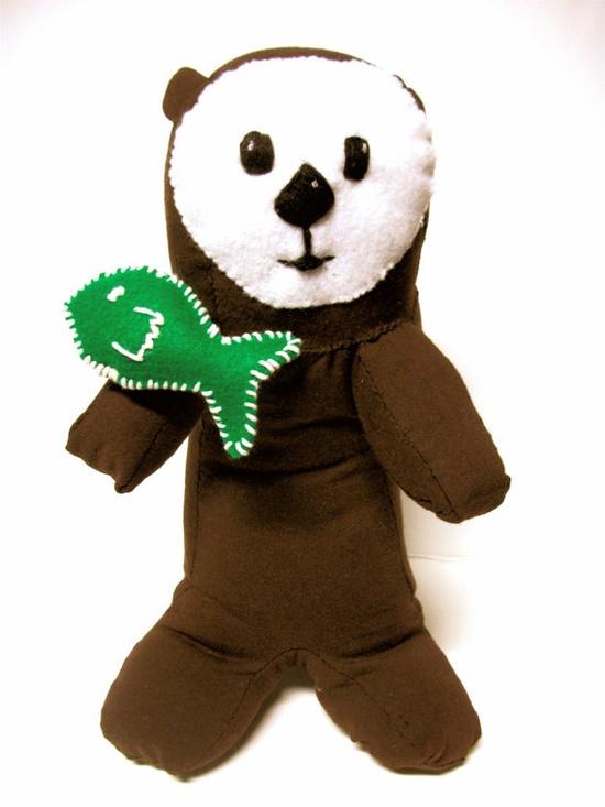 Sea Otter Stuffed Animal Ecofriendly- Karena
