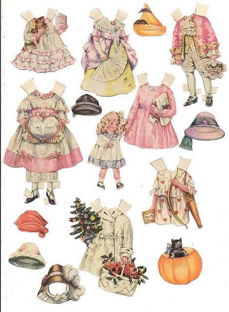 Polly Pratt Paper dolls 2