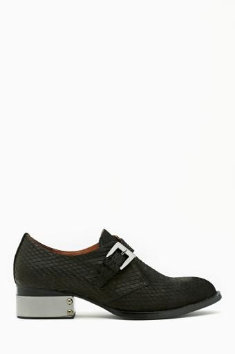 Buchanan Plated Oxford in Black by #JeffreyCampbell