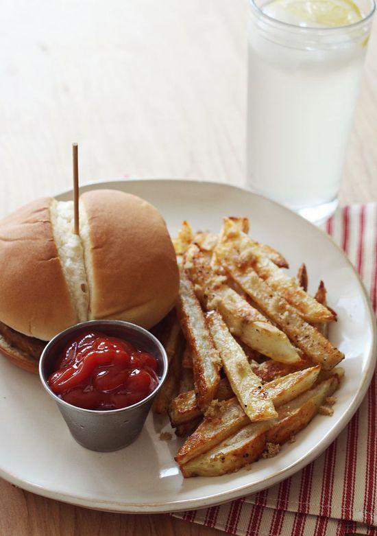 Brown Sugar Baked Fries