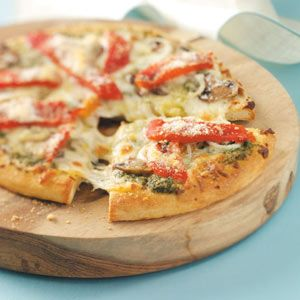 Italian Style Pizzas Recipe from Taste of Home