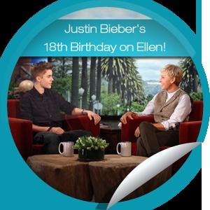 Justin Biebers 18th